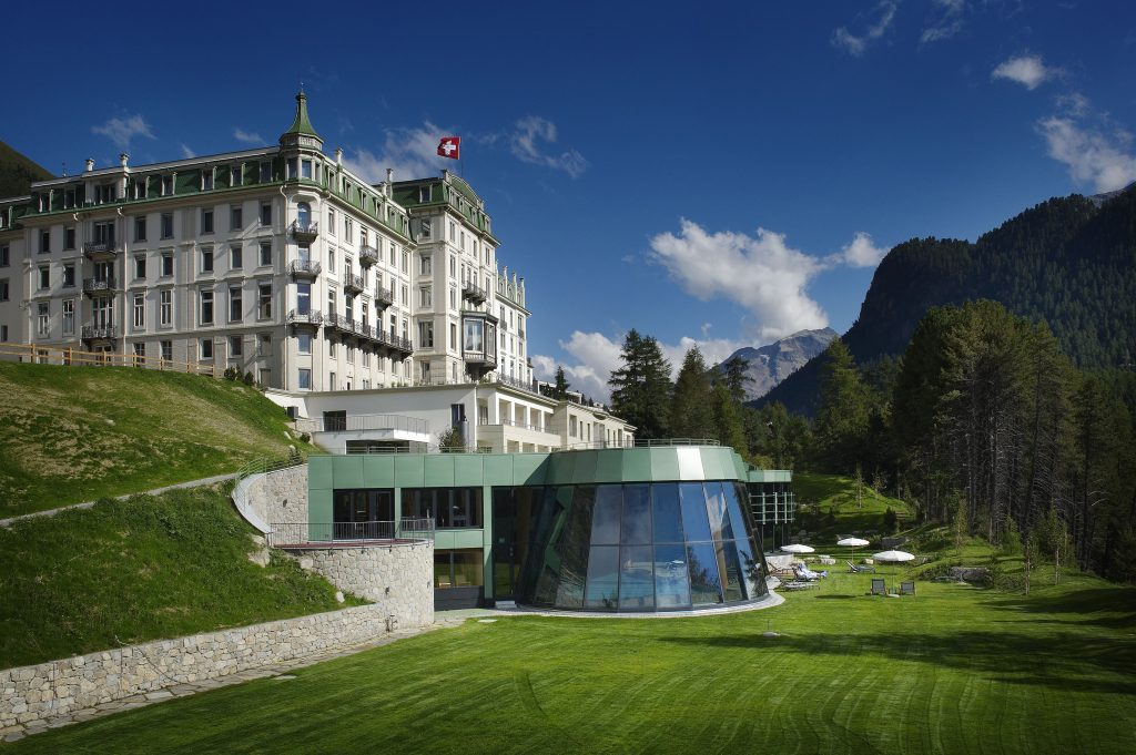 Kronenhof Hotel, Switzerland