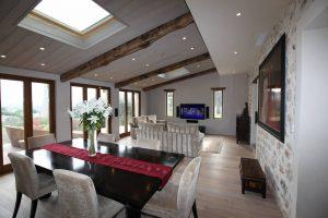 Grasse Villa Dining Room