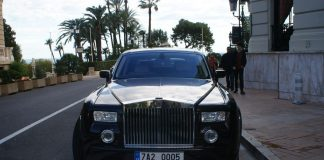 Rolls Royce - Classic car in Monaco