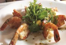 Gambas by Private Chef Emmanuel Sofonea