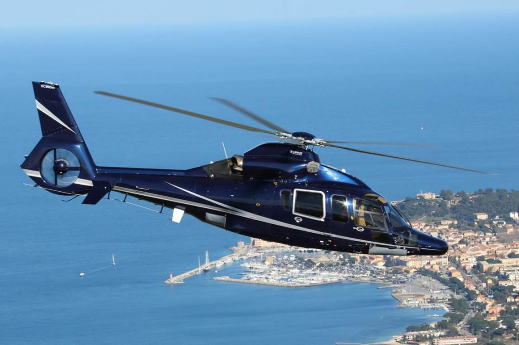 Heli Securite over Saint Tropez