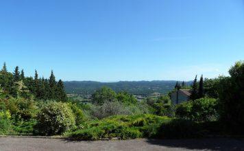 views over callian from picholine villa