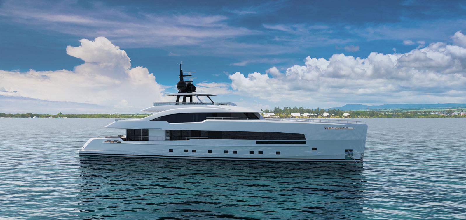yara 44 displacement yacht by isa yachts