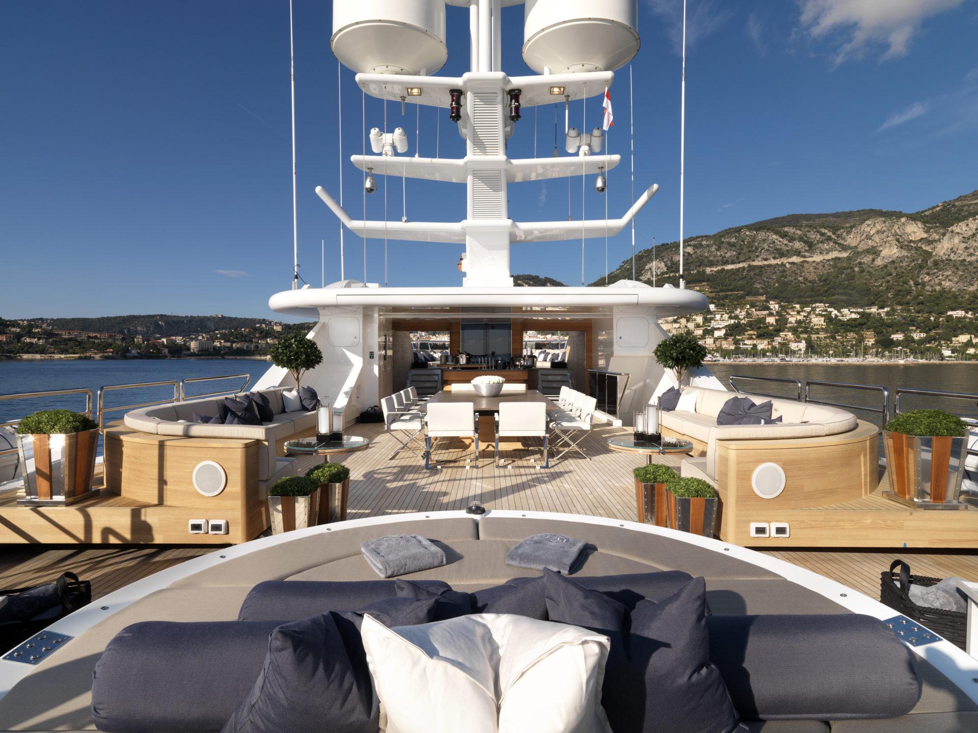 dyna r yacht sundeck