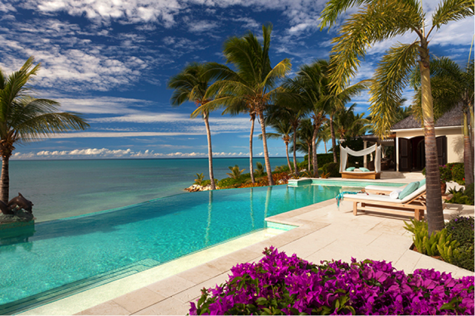 Wherever you look, nothing but nature: The Villa Kairos of the Jumby Bay hotel in Antigua. Photo: Rosewood Hotels & Resorts