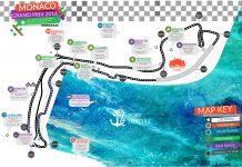 Monaco Grand Prix Map