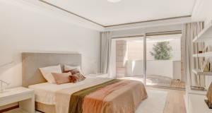 Monaco luxury Apartment bedroom