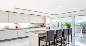 monaco luxury apartment kitchen