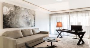 Monaco apartment music room
