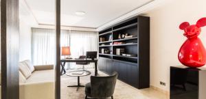 monaco apartment library