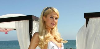 Paris Hilton in Ibiza