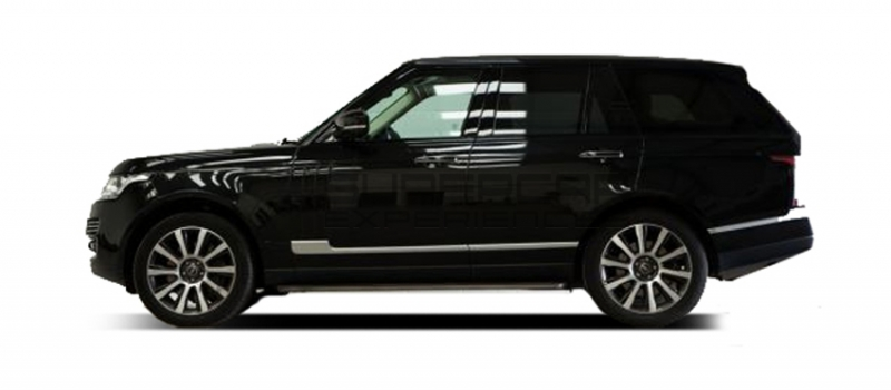 Range rover vogue-most scenic drive in the UK