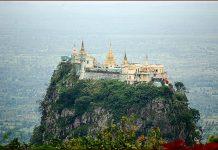 Bagan-Monte-Popa- Birmanie