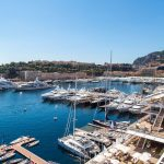 38065975 – panoramic view of monte carlo in a summer day, monaco