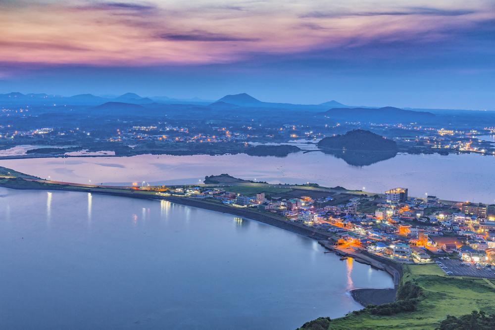 Ile de Jeju Corée du Sud